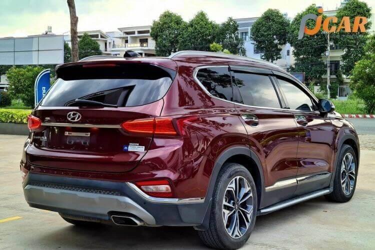 Đuôi Xe Hyundai SantaFe 2021