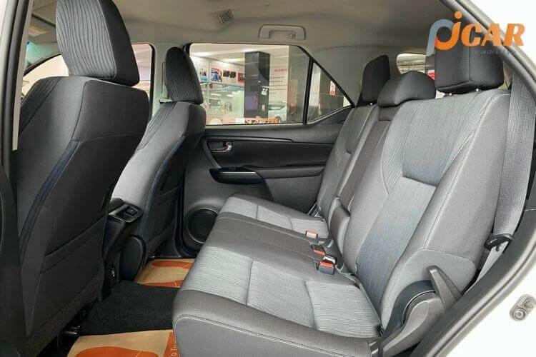 Ghế Sau Xe Toyota Fortuner 2021