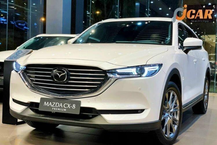 Ngoại thất mẫu xe Mazda CX 8 2021