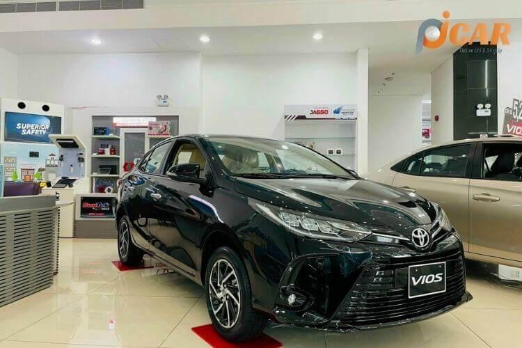 Ngoại Thất Mẫu Xe Toyota Vios 2021