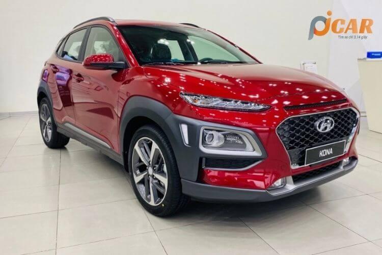 Ngoại thất xe Hyundai Kona 2021