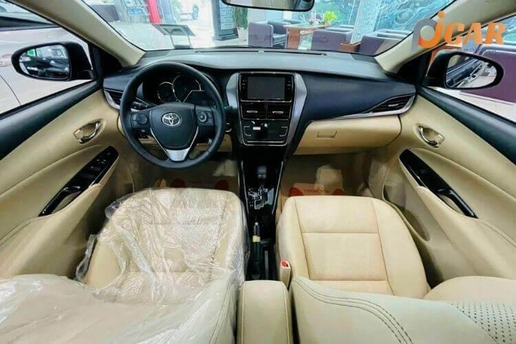 Nội Thất Mẫu Xe Toyota Vios 2021