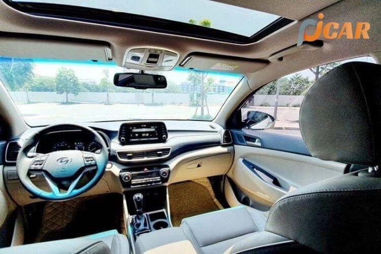 Nội thất xe Hyundai Tucson 2021