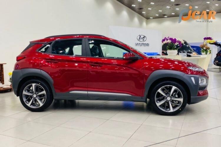 Thân xe Hyundai Kona 2021