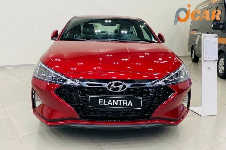 Đầu trước xe Hyundai Elantra 2021