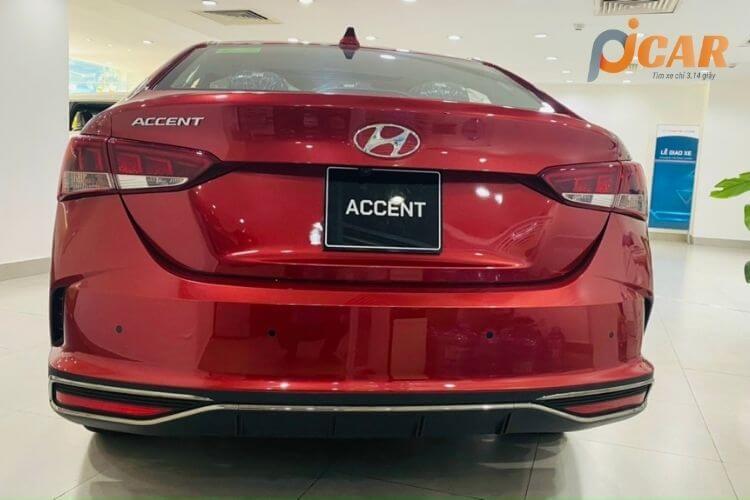 Đuôi sau xe Hyundai Accent 2021