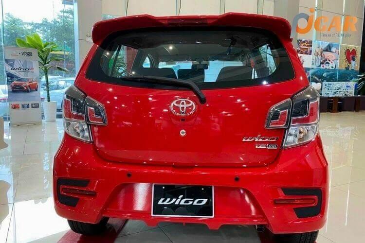 Đuôi Xe Toyota Wigo 2021