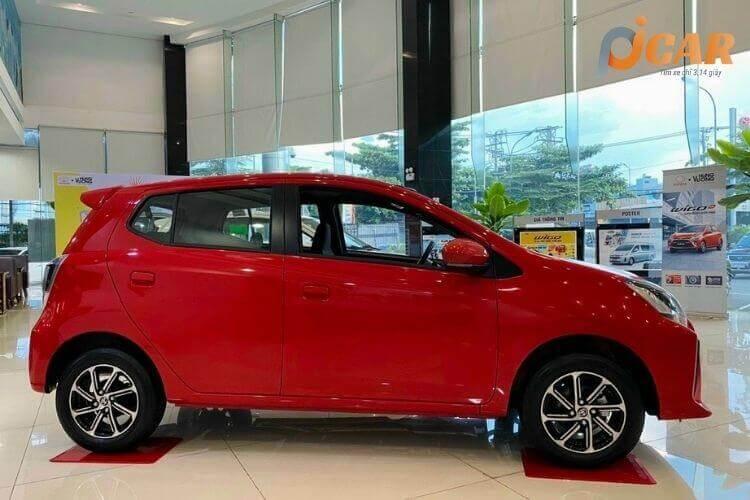 Ngoại Thất Mẫu Xe Toyota Wigo 2021