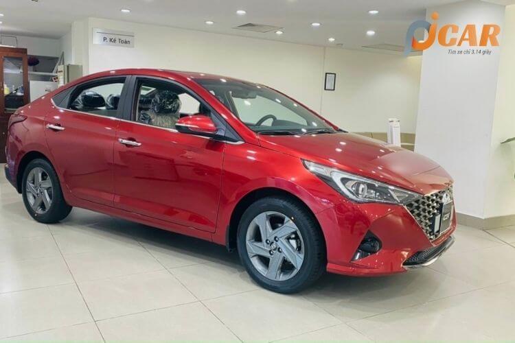 Ngoại thất xe Hyundai Accent 2021
