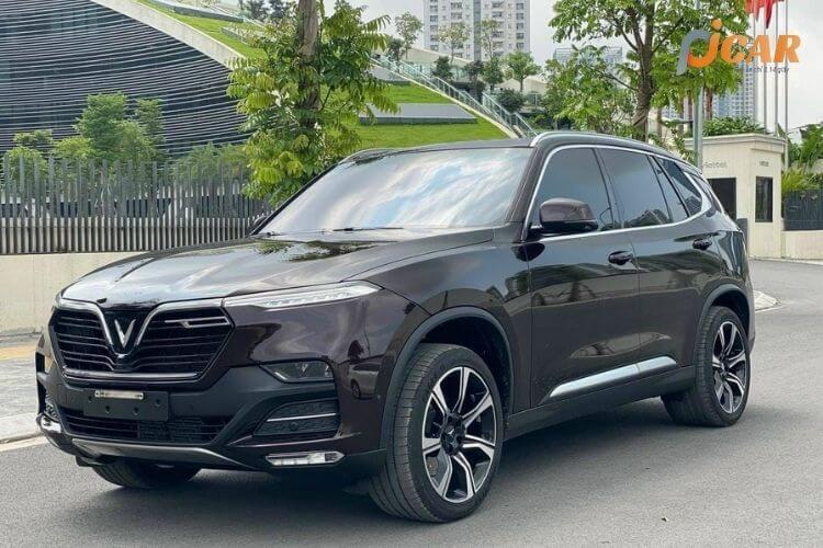 Ngoại thất mẫu xe Vinfast Fadil 2021