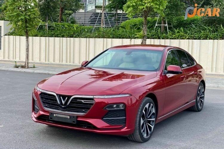 Ngoại thất mẫu xe Vinfast Lux A2.0 2021