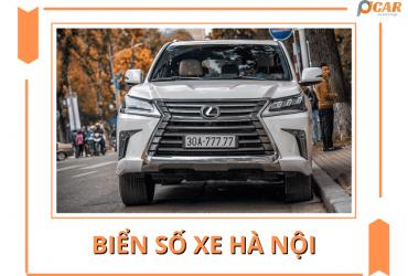Biển số xe Hà Nội   Ký hiệu các quận huyện CẬP NHẬT 2021