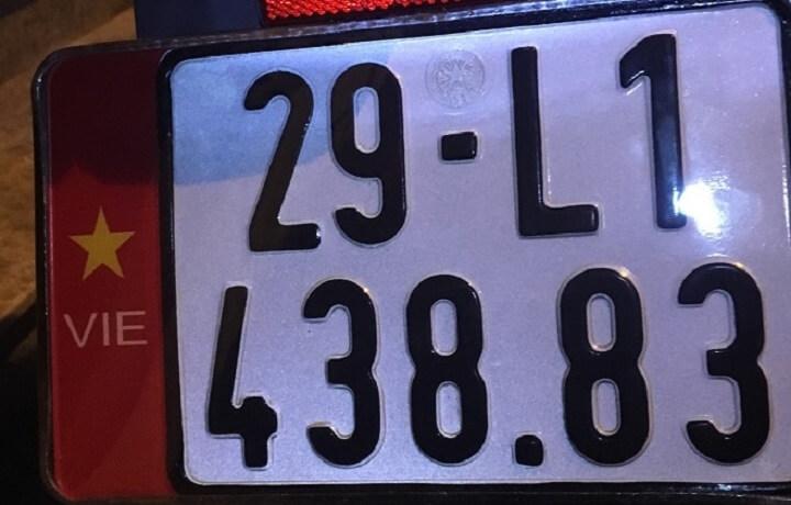 Biển số xe máy Hà Nội