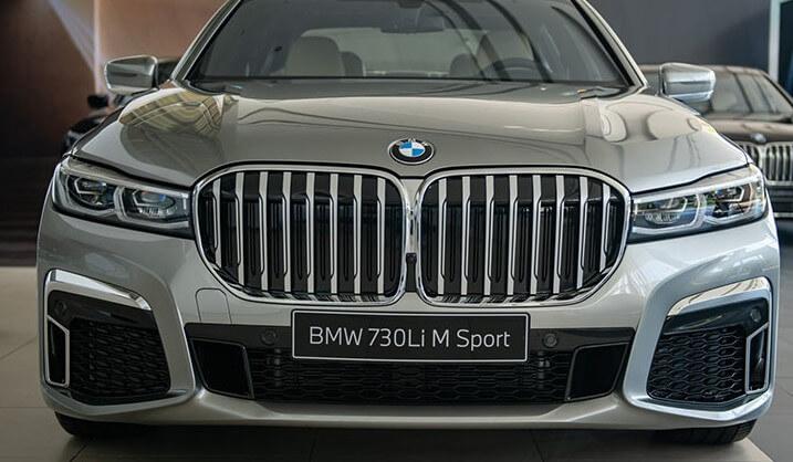 giá xe bmw 730li m sport 2020